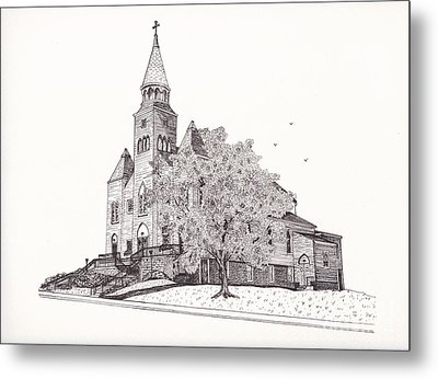 Saint Bridget Church Metal Print