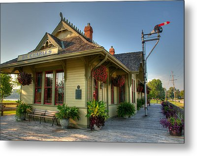 Saint Charles Station Metal Print by Steve Stuller