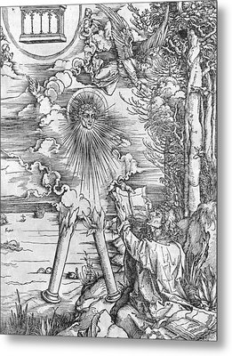 Saint John Metal Print by Albrecht Durer or Duerer
