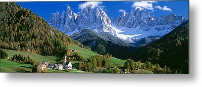 Saint Magdalena Church, Italy Metal Print by Panoramic Images