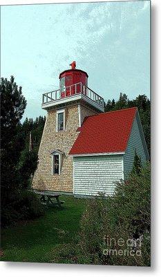 Saint Martin's Lighthouse 2 Metal Print by Kathleen Struckle
