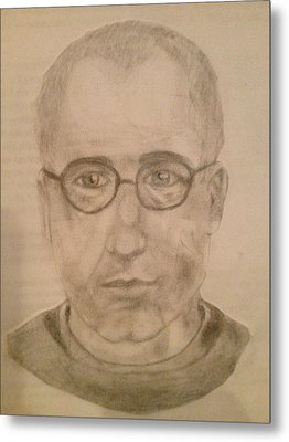 Saint Maximillian Kolbe Metal Print by Noah Burdett