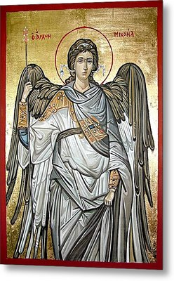 Saint Michael Metal Print