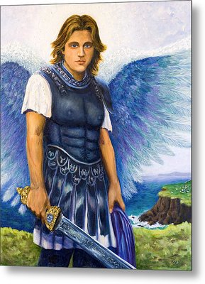 Saint Michael The Archangel Metal Print