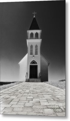 Metal Print featuring the photograph Saint Peter Church by Joseph Hollingsworth