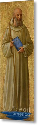 Saint Romuald Metal Print by Fra Angelico