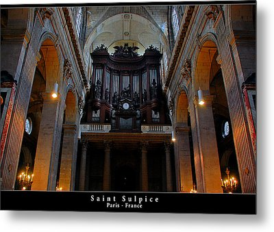 Saint Sulpice Metal Print by Dany Lison