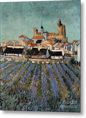 Saintes Maries De La Mer Metal Print by Vincent van Gogh