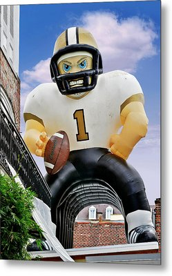Saints New Orleans Metal Print