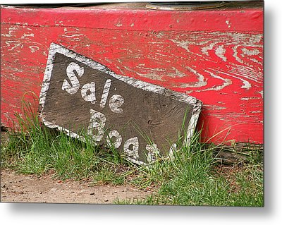 Sale Boat Metal Print by Art Block Collections