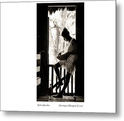Metal Print featuring the photograph Salina Rosales by Tina Manley