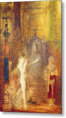 Salome Dancing Before Herod Metal Print