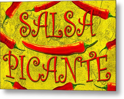 Metal Print featuring the photograph Salsa Picante by Selke Boris