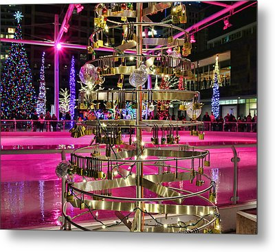 Metal Print featuring the photograph Salt Lake City - Skating Rink - 1 by Ely Arsha