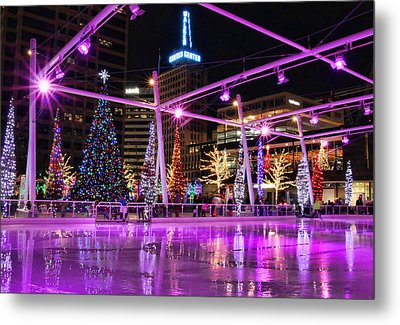 Metal Print featuring the photograph Salt Lake City - Skating Rink - 2 by Ely Arsha