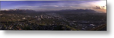 Salt Lake Valley Metal Print