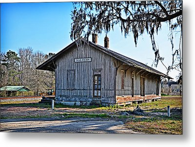 Salters Depot Metal Print by Linda Brown