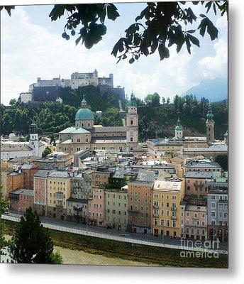 Salzburg Austria Old Town 3 Metal Print