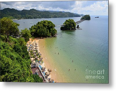 Metal Print featuring the photograph Samana In Dominican Republic by Jola Martysz
