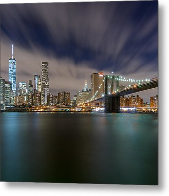 Metal Print featuring the photograph Same Bat Time  by Anthony Fields
