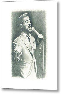Sammy Davis Jr Metal Print by Gordon Van Dusen