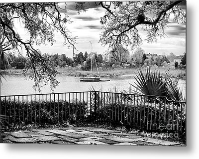 Sampit River View Metal Print by John Rizzuto