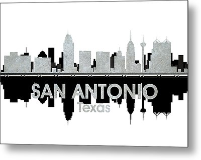 San Antonio Tx 4 Metal Print by Angelina Vick