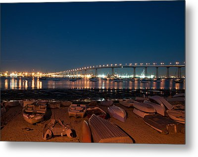 San Diego Bridge  Metal Print