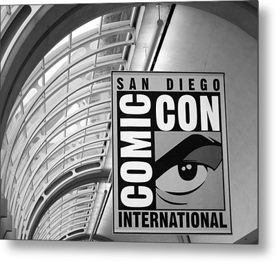San Diego Comic Con Metal Print by Nathan Rupert