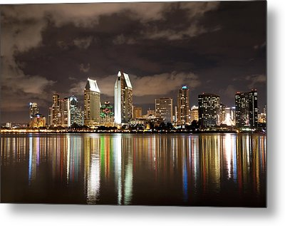 San Diego Skyline 1 Metal Print by Lee Kirchhevel