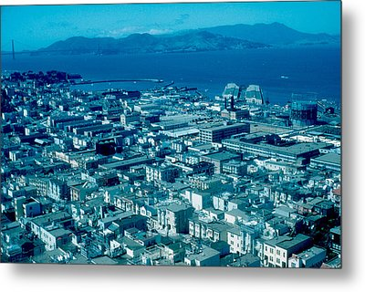 San Francisco 14 1955 Metal Print by Cumberland Warden
