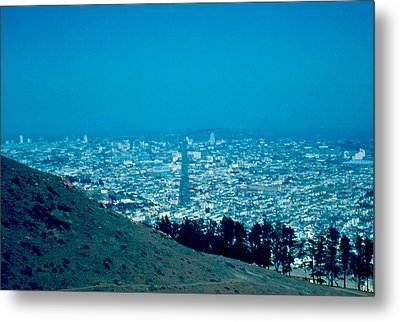 San Francisco 1955 Metal Print by Cumberland Warden