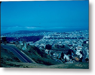 San Francisco 4 1955 Metal Print by Cumberland Warden