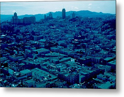 San Francisco 8 1955 Metal Print by Cumberland Warden