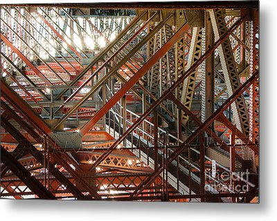 San Francisco Bay Bridge 1.6994 Metal Print