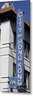 Metal Print featuring the photograph San Francisco Chinatown by Denise Pohl