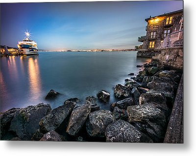 San Francisco Citiyscape From Sausalito United States Metal Print