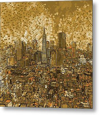 San Francisco Cityscape Metal Print