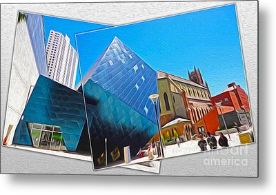 San Francisco - Contemporary Jewish Museum - 01 Metal Print by Gregory Dyer