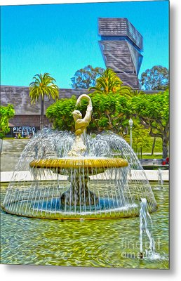 San Francisco - De Young Museum - 01 Metal Print by Gregory Dyer