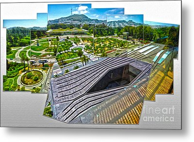San Francisco - De Young Museum - 02 Metal Print by Gregory Dyer