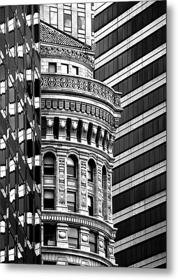 San Francisco Design Metal Print