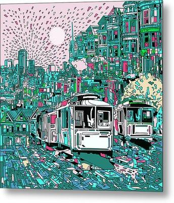 San Francisco Dream Metal Print