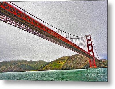 San Francisco - Golden Gate Bridge - 03 Metal Print by Gregory Dyer