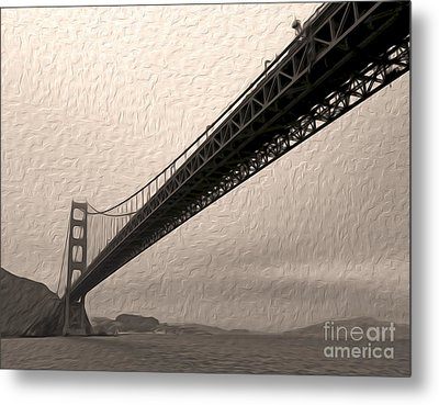 San Francisco - Golden Gate Bridge - 05 Metal Print by Gregory Dyer