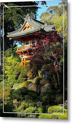 San Francisco Golden Gate Park Japanese Tea Garden 10 Metal Print by Robert Santuci