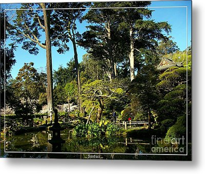 San Francisco Golden Gate Park Japanese Tea Garden 11 Metal Print by Robert Santuci