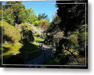 San Francisco Golden Gate Park Japanese Tea Garden 7 Metal Print by Robert Santuci