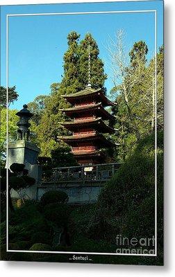 San Francisco Golden Gate Park Japanese Tea Garden 8 Metal Print by Robert Santuci