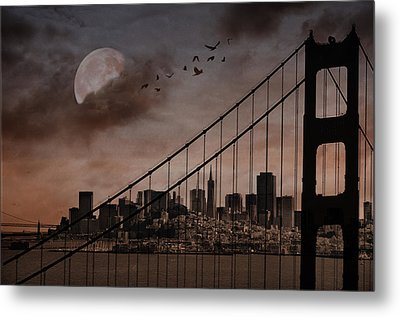 San Francisco Metal Print by Marie  Gale